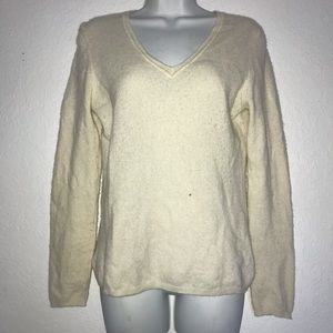 Cashmere Charter Club 2 Ply V Neck Sweater